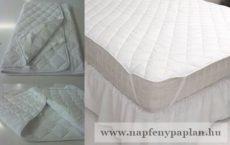 Napgyöngye kényelmi gumifüles ágyvédő (160x200)