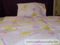 Scooby-Doo rózsaszín pamut ágyneműhuzat garnitúra (2 részes, zippes)