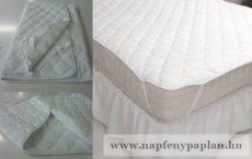 Napgyöngye kényelmi gumifüles ágyvédő (200x200)