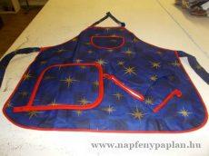 Karácsonyi Tálaló Szett (kötény, alátét, kesztyű) kék