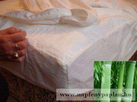 Sabata BAMBUSZ Körgumis matracvédő (200x200)