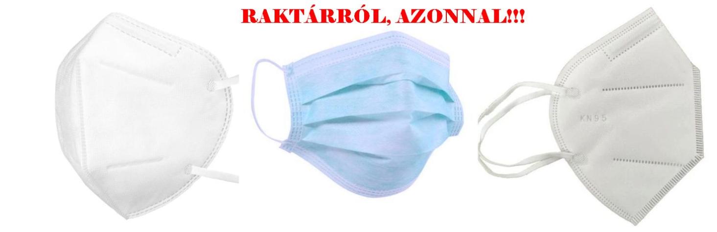 FFP2 MASZKOK RAKTÁRRÓL